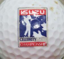 ISUZU CELEBRITY CHAMPIONSHIP PGA & TOURNAMENT LOGO GOLF BALL