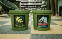 NEW! Essex Angling / Flores Carp Carp Fishing 10ltr Round Bait bucket