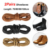 Boots Laces Strings Leather Dress Shoes Round Waxed Shoelaces Shoe Laces Cord