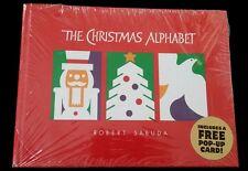 NEW/SEALED ~ THE CHRISTMAS ALPHABET ~ 2001 ~ ROBERT SABUDA ~ ORCHARD BOOKS