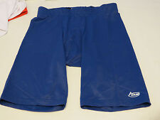 Adams USA Support shorts 1 pair royal blue athletic sports S Small NOS