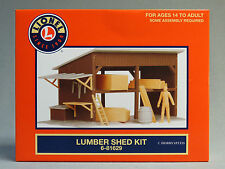 LIONEL LUMBER SHED KIT o gauge train building scenery wood figure people 6-81629