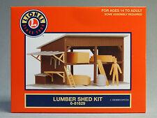 LIONEL LUMBER SHED KIT o gauge train building scenery wood figure people 6-81629