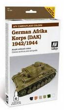 Vallejo Paints & Accessories VLJ-78410 German Afrika Korps 1942-44 Camo Colors