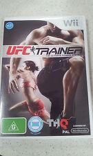 UFC trainer wii