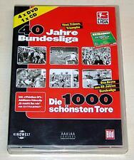 40 JAHRE BUNDESLIGA 1000 SCHÖNSTEN TORE 4 DVD BAYERN MÜNCHEN BORUSSIA DORTMUND