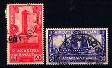 ITALIA - Regno - 1931 - Cinquantenario della Regia Accademia Navale di Livorno