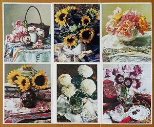 "Barbara Edidin, Set of 6 prints, 8""x10"" overall, all for only $19.99"