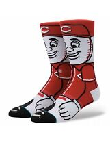 STANCE MLB Cincinnati Reds Crew Socks Men's Size Medium 6-8.5 NEW