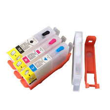 For HP 670 670 3525 4615 4625 5525 6525 refillable ink cartridge with ARC chips