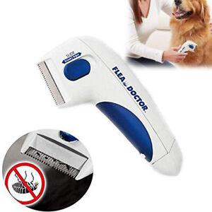 Flea Electric Pet Cat Dog Safe Flea Zapper Comb Kills Fleas Pet Supply MA