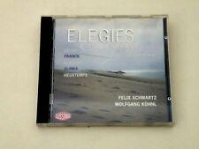 ELEGIES - FOR VIOLA AND PIANO - FELIX SCHWARTZ WOLFGANG KUHNL - CD 2000