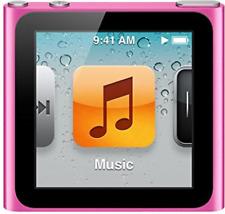 iPod Nano (6. Generation) 8GB  Wi-Fi Pink #Sehr gut