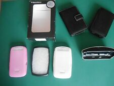 3 NEW GENUINE BLACKBERRY STORM 9500/9520 SKINS/CASES & ACCESSORIES