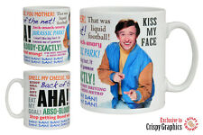 ALAN PARTRIDGE QUOTES MUG - Aha!