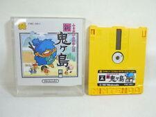 SHIN ONIGASHIMA 1 Nintendo Famicom Disk Japan Video Game No inst dk