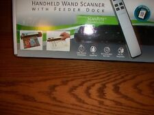 NIB Pandigital Blue Handheld Wand Scanner Scan Photos Documents Receipts Books
