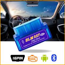 DIAGNOSI Auto Interfaccia OBDII OBD2 ELM327 Bluetooth Android SCANNER per FIAT