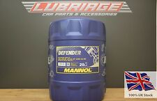 MANNOL Defender 20L Semi-Synthetic Engine Oil 501.01/505.00 MB229.1 10W-40 SL/CF