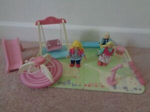 ELC Rosebud Village Playground with Figures