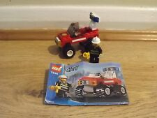 Lego City 7241 Fire Chief Car - 100% Complete - Excellent Condition