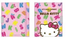 Sanrio Hello Kitty: Alpha K/Tcover Diary Book Notebook with Key Lock