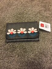 Relic black and white Floral wallet.