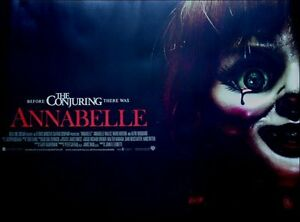 Annabelle, Original UK Quad Sheet Movie Poster