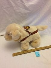 Vintage Puppy Dog Walking Barking Mechanical Toy 1993 Iwaya