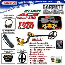 PROMO !!! EuroAce - Détecteur de métaux Garrett Euro Ace 350 Pack Pro