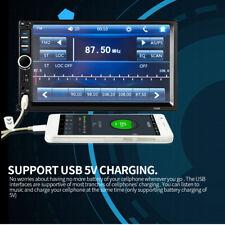 7 inch 7018B 2 DIN Car MP5 Player Touch Screen Bluetooth GPS Radio+Rear Camera