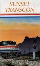 Amtrak's Sunset Limited Transcon DVD NEW Inaugural run 1993 history Amtrak