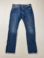 LEVI'S 501 SLIM Jeans - W32 L32 - Blue - Great Condition - Men's