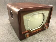 1949 Motorola Mahogany Wood Table Top 10� Tv Television - 10Vt24R Ts-14B