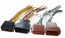 Radio Aadapter Kabel ISO Stecker Buchse Auto Reparatursatz VOLLBELEGUNG