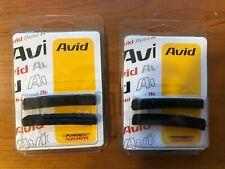 2 Brand New Sets Avid SRAM Rim Wrangler 2 Standard V-Brake Insert Brake Pads