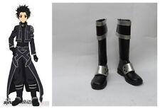Sword Art Online ALfheim Online Kazuto Kirigaya kirito Cosplay Boots Boot Shoes