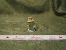 """Vintage Strawberry Shortcake PVC 2 """" mini Lime Chiffon party pink hat girl toy"""