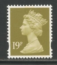 Great Britain #Mh254 Vf Mnh - 1996-2010 19p Queen Elizabeth Ii / Machin