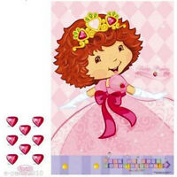 STRAWBERRY SHORTCAKE Berry Princess SMALL PARTY GAME POSTER ~ Birthday Supplies