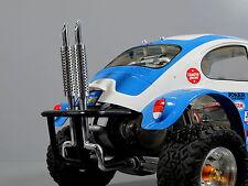 Custom Rear Dual Alloy Exhaust Tamiya 1/10 RC Sand Scorcher Super Champ Buggy