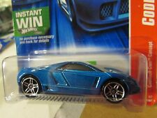 Hot Wheels Cadillac Cien Concept Code Car Blue