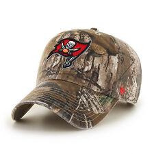 Tampa Bay Buccaneers 47 Brand Clean Up Hat Adjustable Cap RealTree