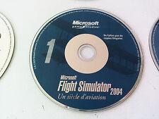 cd n°1 du jeu Microsoft flight simulator 2004 PC FR