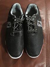 New Kids FJ Hyperflex Black Red Golf Shoe Size 2 M Style 45099