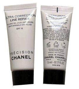 Chanel Ultra Correction Line Repair .17 oz / 5 ml Anti Wrinkle Day Fluid Spf 15