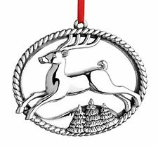 2015 Reed Barton Sterling 9th Annual Williamsburg Reindeer  Christmas Ornament
