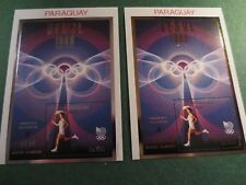 Scott #C714 MNH Gold and Silver Seoul Paraguay Olympics Torch Runner