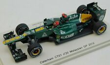 Spark F1 Caterham CT01 Heikki Kovalainen 1/43 Malaysian GP 2012