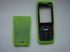 NOKIA 3 PARTS COVER CASE FOR E51 GREEN FRONT & BACK & KEYPAD